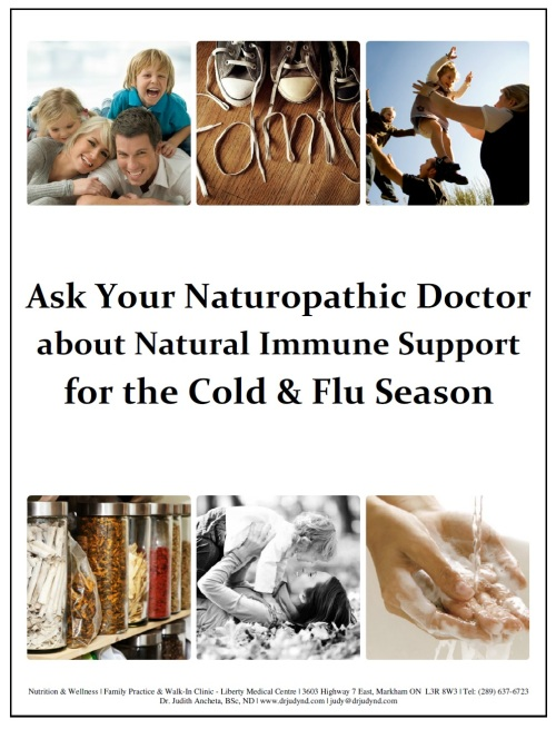 Ask Your ND About a Natural Immune Booster
