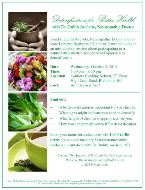 Detoxification for Better Health_October 2013
